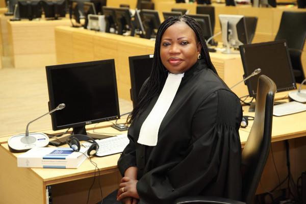 Fatou Bensoda, capo del team dell'accusa nel precedente procedimento