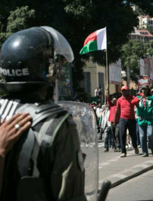 Manifestazione ad Antananarivo