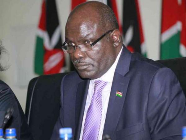Il presidente della Commissione Elettorale Wafula Chebukati