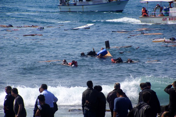 October 3rd 2013: shipwreck in Lampedusa