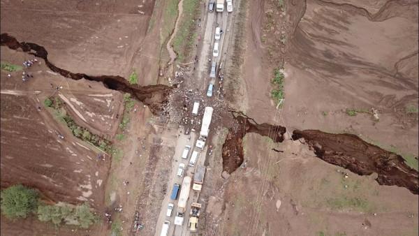 La lunga frattura della crosta terreste a Narok