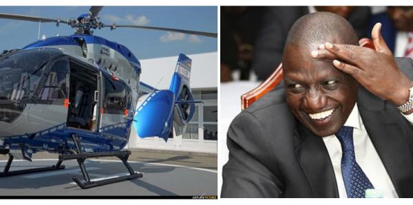 Ruto sembr tergersi il sudore per l'oneroso acquisto del suo Chopper, ma non lasciamoci ingannare...