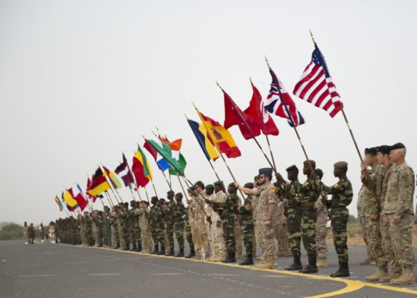 Flintlock 2018, soldati dei Paesi partecipanti