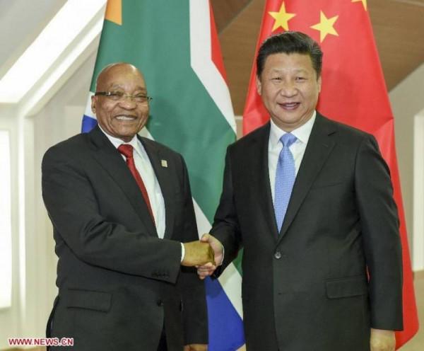 L'accordo economico tra l'ex presidente sudafricano Jacob Zuma e il premier Cinese Xi Jinping
