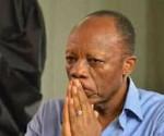 Jean-Marie Michel Mokoko durante il processo a suo carico a Brazzaville