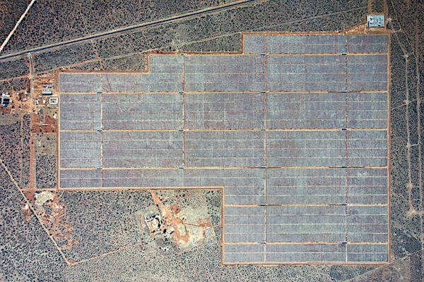 Impianto fotovoltaico di Kathu, Sudafrica, costruito da Building Energy, operativo dal 2014 (foto di Building Energy)