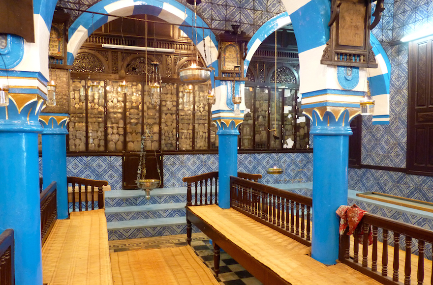 La sinagoga el-Ghriba, Gerba,Tunisia