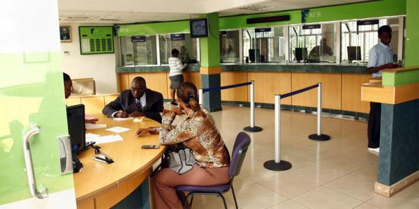 Atrio di un istituto bancario in Kneya