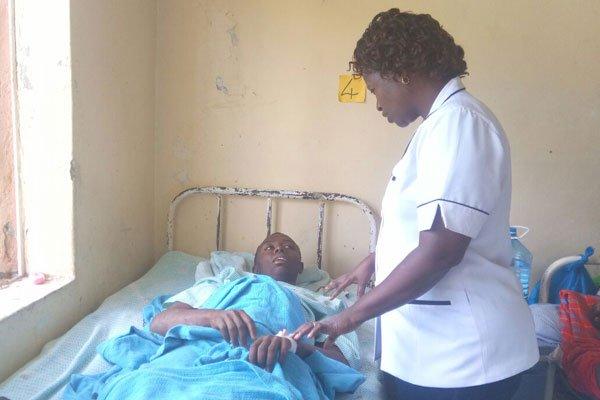 Uno dei feriti ricoverato presso un ospedale di Nakuru