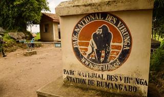 Una delle entrate del parco nazionale Virunga, in Congo-K