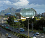 Mauritius Commercial Bank (MCB) nel quartiere Ebène a Paint Louis
