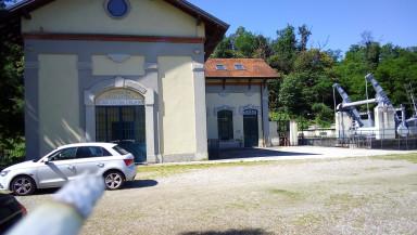 La centrale idroelettrica dell'Orlandi s.r.l. a Galliate (NO)