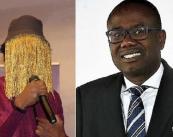 Il giornalista investigativo ANAS, a sinistra e Kwesi Nyantakyi, a destra