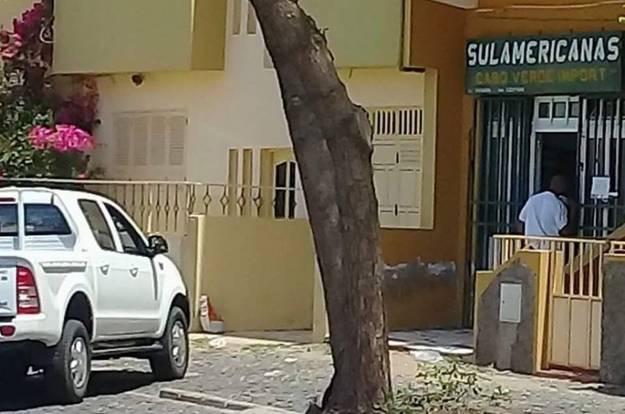 Sede della Sulamericanas Capo Verde Lda a Mindelo, Capo Verde (courtesy CENOZO)