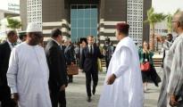 Emmanuel Macron, il presidente della Francia, in Mauritania per il vertice dell'UA