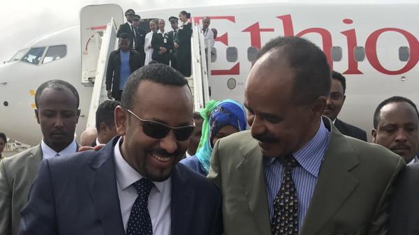 Isaias Afwerki Abiy Amhed Eritrea