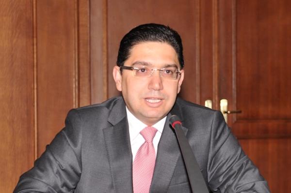Nasser Bourita, ministro degli Esteri del Marocco