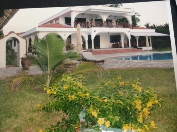 la residenza del governatore Amason Kingi a Kilifi