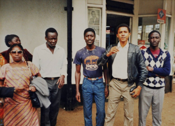 Nairobi: Barack Obama, allora ventisettenne, nella sua prima visita in Kenya