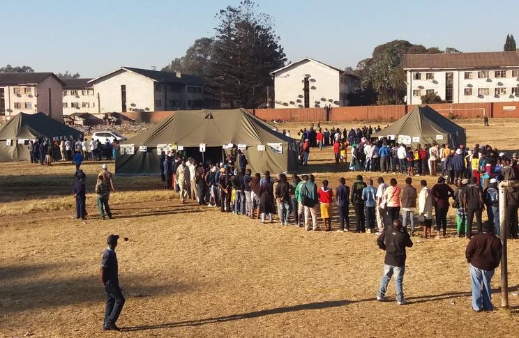Zimbabwe, code ai seggi per le elezioni 2018