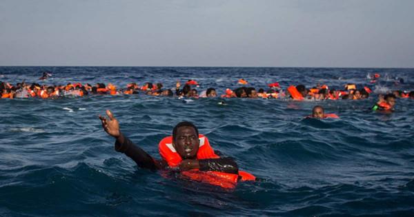 naufragio di migranti nel Mediterraneo centrale