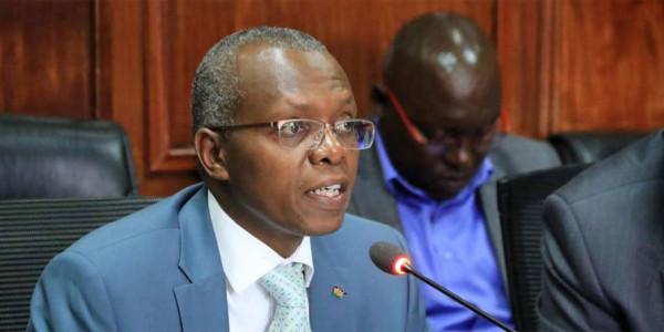 "L'amministratore delegato della ""Kenya Railways"" Atanas Kariuki Maina"