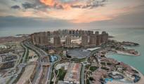 La ricca e modernissima città di Doah, capitale del Qatar