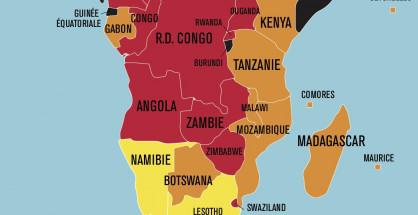 """Il Mozambico è classificato in arancione come """"Paese con problemi sensibili"""" (Courtesy Reporter sans Frontieres)"""