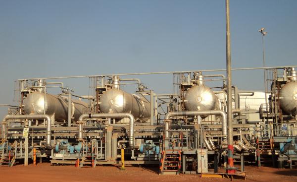 Una raffineria di greggio a gestione cinese in Sud Sudan