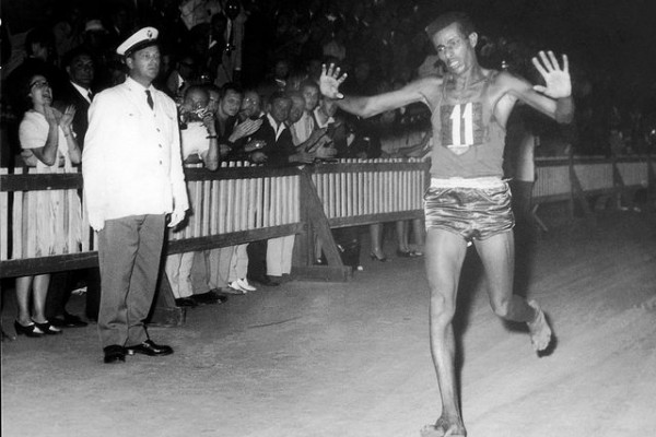 Abebe Bikila, Roma 1960