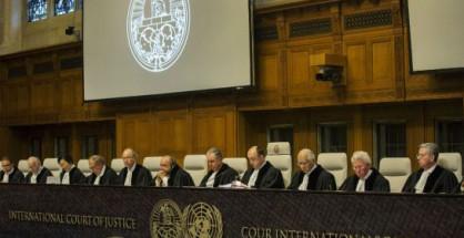 Giudici della Corte di Giustizia Internazionale dell'Aja