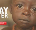Uno dei poster utilizzati per raccogliere fondi in favore dell'Africa