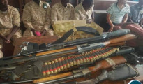 Le undici persone arrestate per il training militare illegale