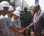 Impiegati cinesi di un società mineraria in Centrafrica