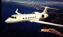 Il jet Gulftstream G650 in volo che sarà presto acquisito dal leader zambiano