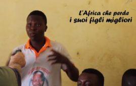 """L'Africa perde i suoi figli migliori - Fotogramma del booktrailler """"Immaginari migratori"""""""