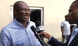 il deputato ghanese Kennedy Yagapong, intervistato dall'emittente KofiTV