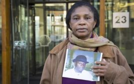 Esther Kiobel, vedova di Barinem, impiccato dopo un processo farsa del 1995 in Nigeria (Courtesy Amnesty International)